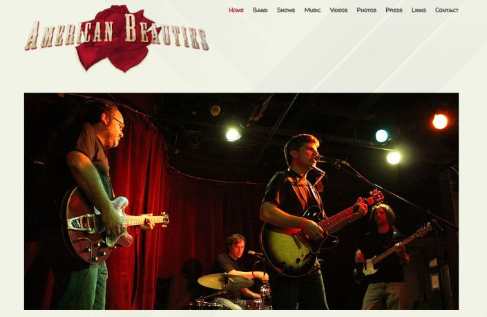 Web Hosting and Design for Bands